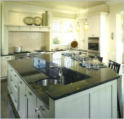 Kitchen Island Sink Kitchen Island With Sink And Seating Kitchen with Kitchen  Island With Sink And