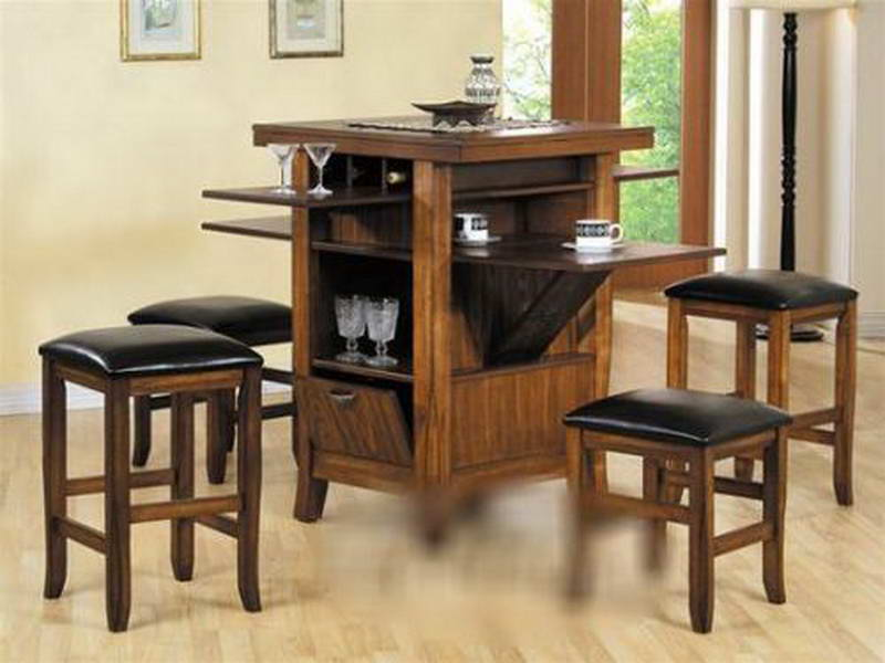 Image of: Counter Height Dining Table Sets With Leaf