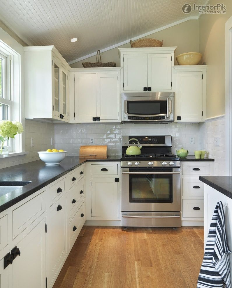 L Shaped Kitchen Designs Interior Home Decorating