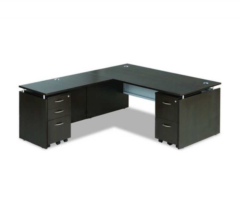 Modern l shaped office desk 1