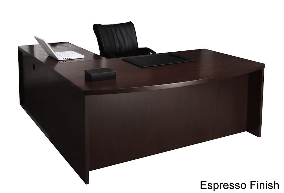 Mayline Mira Series L-Shaped Modern Office Desk