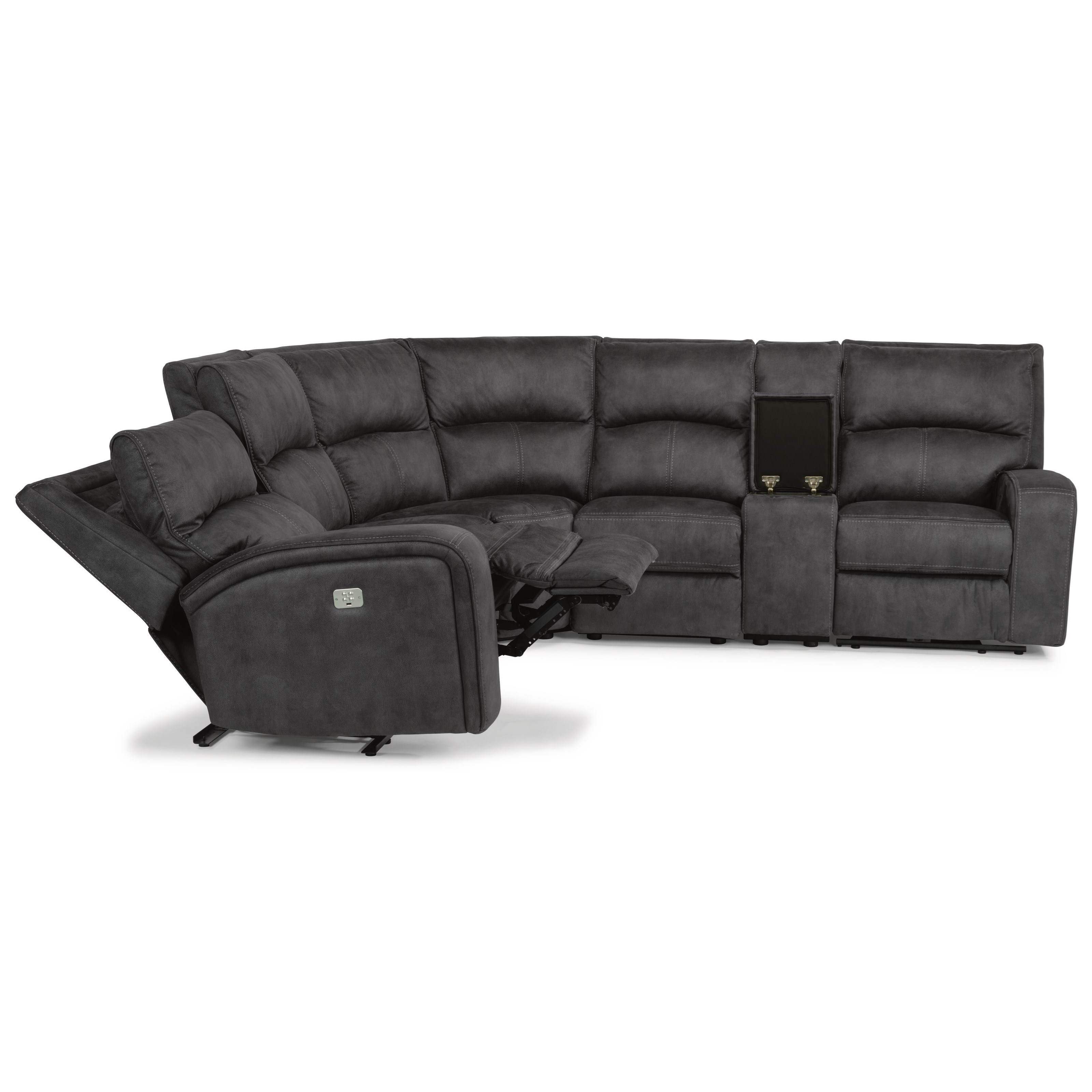 Flexsteel Latitudes-RhapsodyPower Reclining L-Shaped Sectional