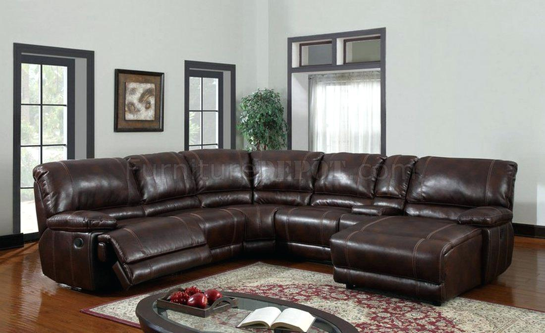 recliner sectionals