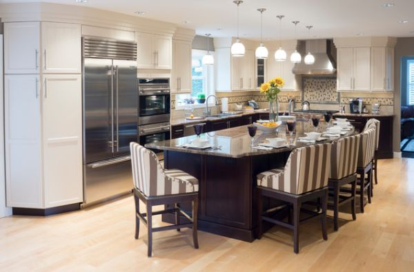 Things that you need to know before   buying a large kitchen island with seating and storage
