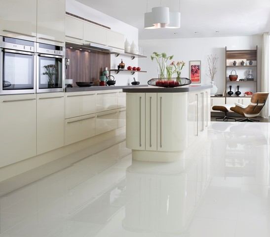 Amazing of Large White Kitchen Floor Tiles Crown Tiles 60x60cm Super  Polished Ivory Porcelain Crown Tiles