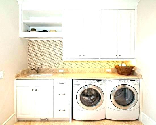 Laundry Room Hanging Storage Over Washer And Dryer Storage Over