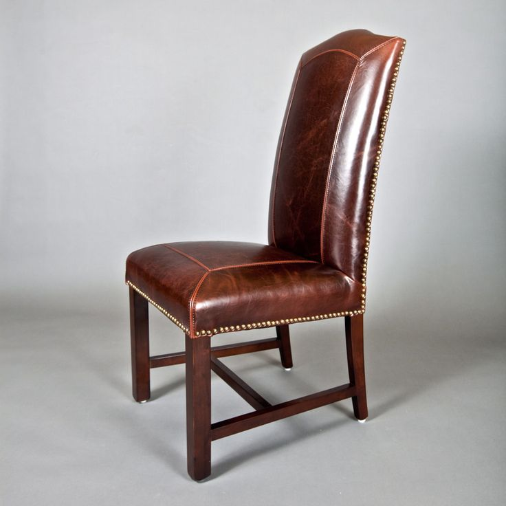 Leather Dining Room Chairs With Nailheads J80S On Brilliant Home