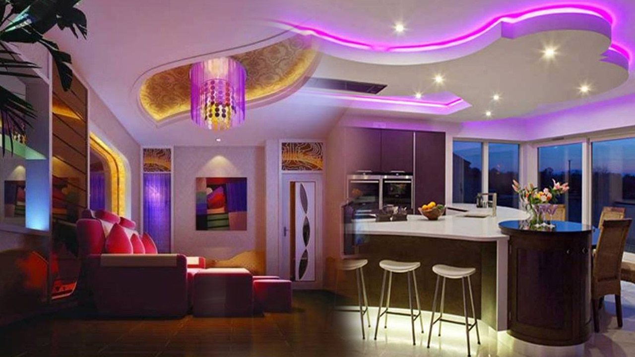 LED Lighting Ideas For Home ( Part 1 )