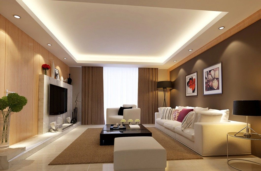 Check Out Living Room Lighting Ideas Pictures.Living room is also often  used to put some arts or your family photo at its wall. These decorative  things are