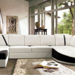 Living room modern corner sofa : raise   the look of living room