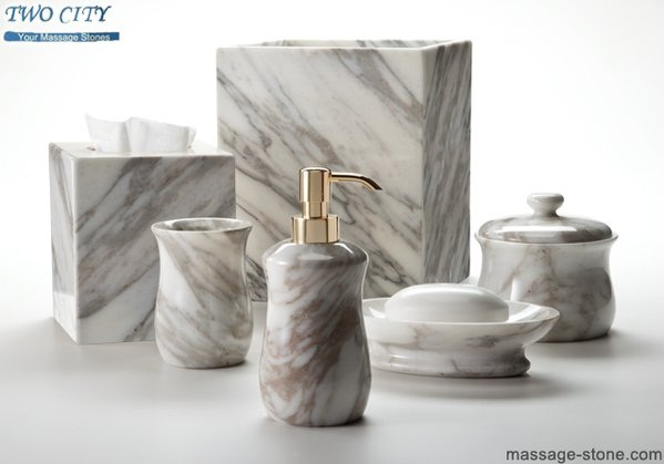 Marble Bathroom Accessories--Stone Bathroom Accessory Set-Catalog