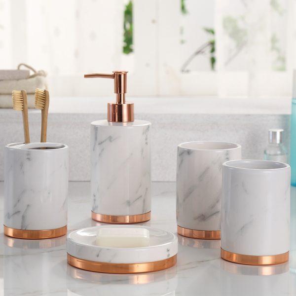 Marble Bathroom set (Sehar B102) | Sehar Crafts
