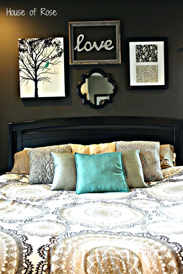 bedroom wall decor ideas art diy master makeover