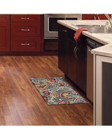 LINKSHARE. Mohawk Home. Mohawk Home Jacobean Curls Memory Foam Kitchen Mat