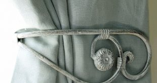 Metal Antler Curtain Tie Backs