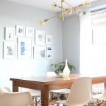 Mid century modern dining room lighting