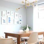Mid century modern dining room lighting