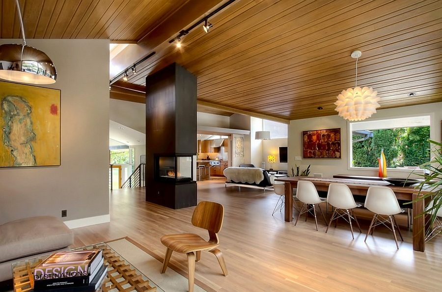 Fabulous midcentury modern home with inviting warmth