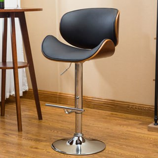 Strick & Bolton Lega Modern Adjustable Swivel Barstool
