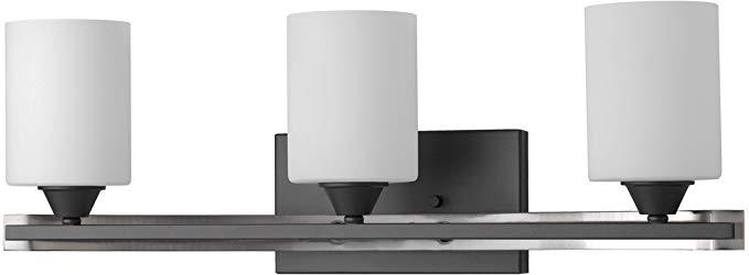 "Luxury Mid-Century Modern Bathroom Vanity Light, Medium Size: 7.875""H x"