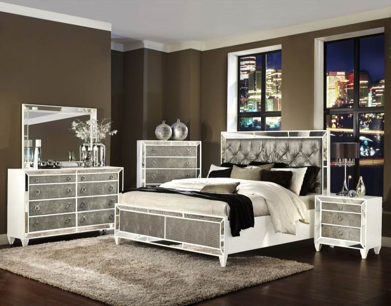 Glass Bedroom Furniture Mirrored Glass Bedroom Furniture