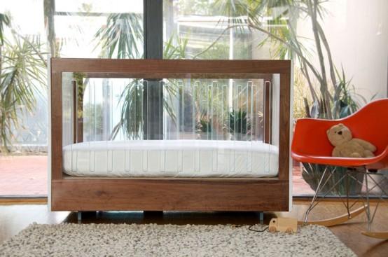 Modern Nursery Furniture Set with Original Crib - ROH Collection