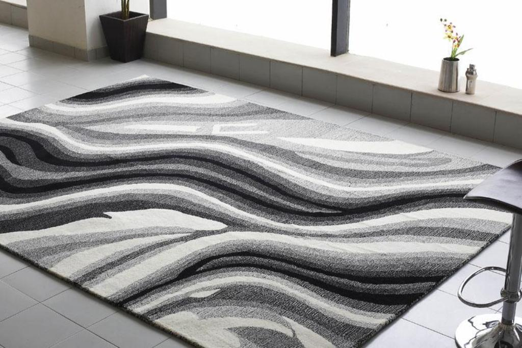 Black And White Rugs Floor
