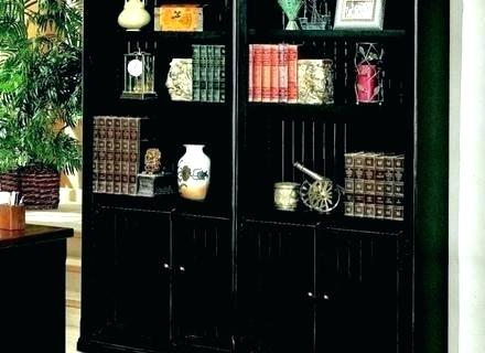 Black Bookcase With Glass Doors Black Bookcase With Doors Bookcases Glass  Door Wooden Sliding Modern Furniture Black Billy Bookcase With Glass Doors