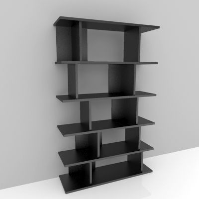 Modern Book case 3D Model / Display Stand 3D Model Click to Download: http: