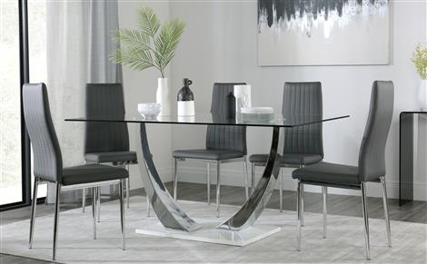 Modern Dining Tables & Chairs - Modern Dining Sets | Furniture Choice