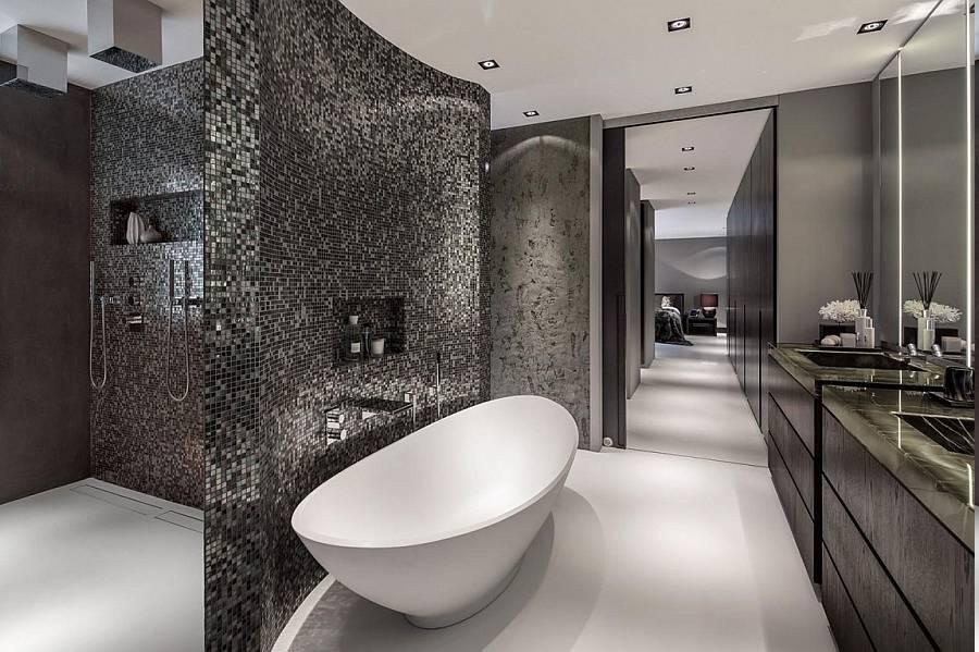 Exquisite Modern Ensuite Bathroom Design