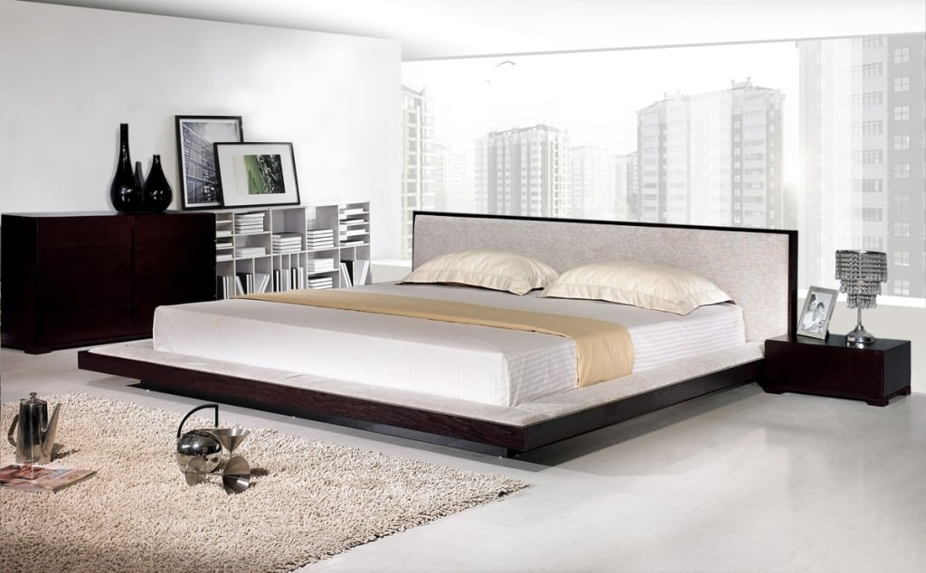 Modern Platform King Bed Frame Idea