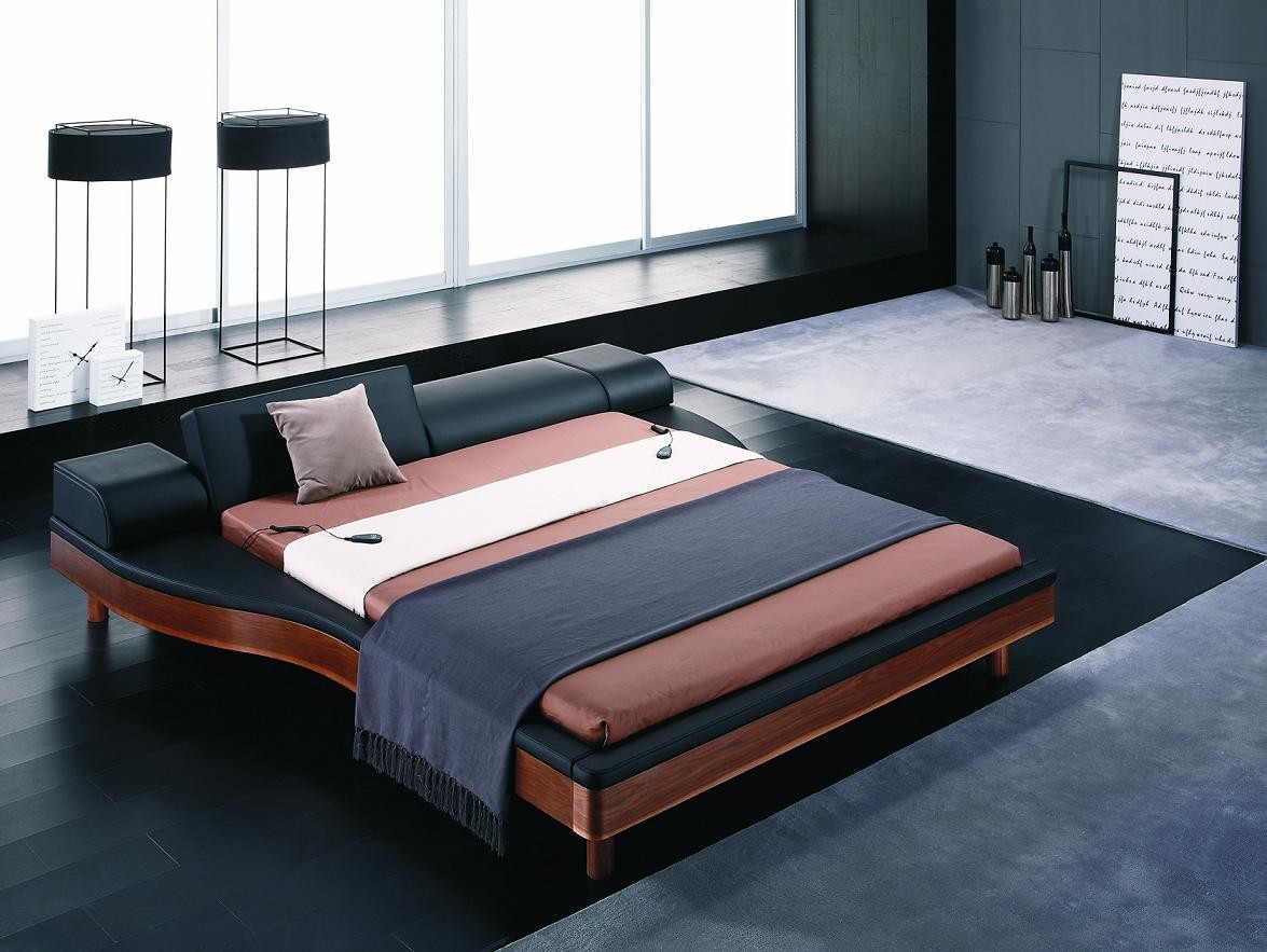 Contemporary And Modern King Size Bed Frame With Cool Style