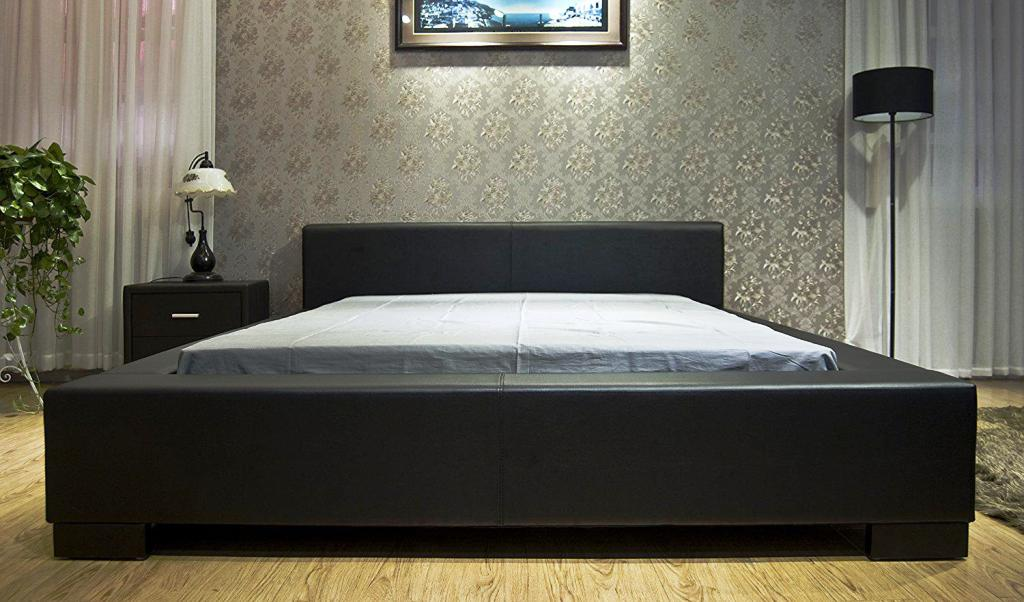 Image of: Modern King Bed Frame Dimensions