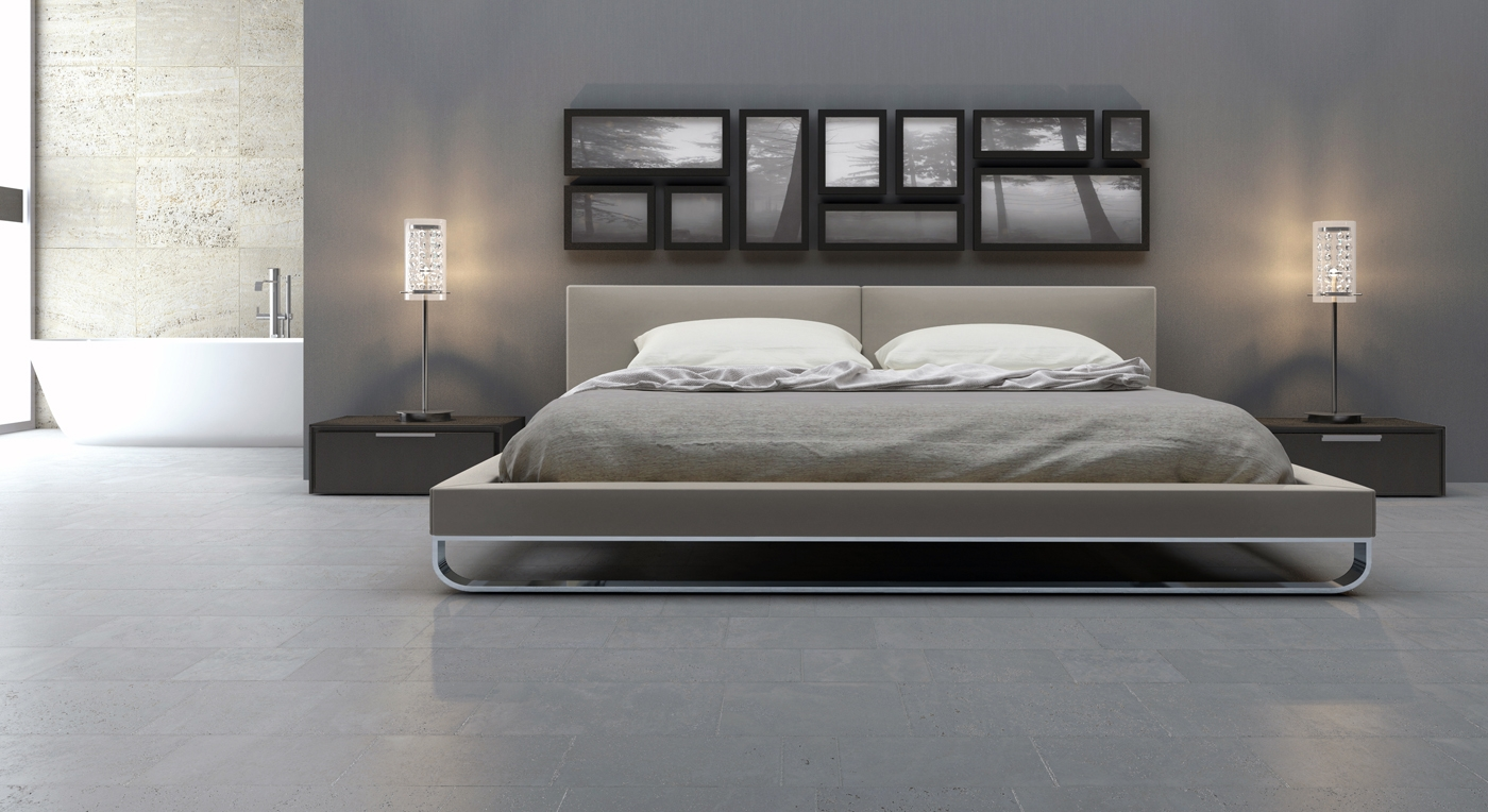 Image of: Modern King Size Bed Style