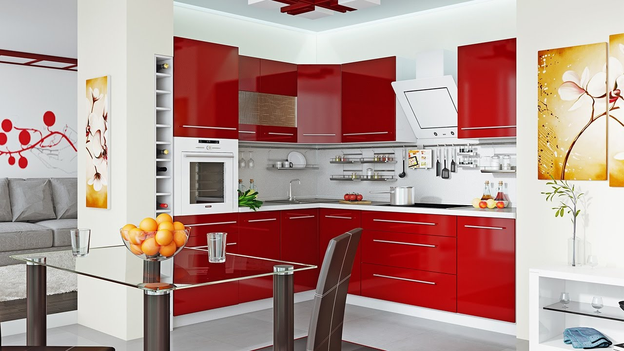 Compact modern kitchen | Small kitchen design for small space