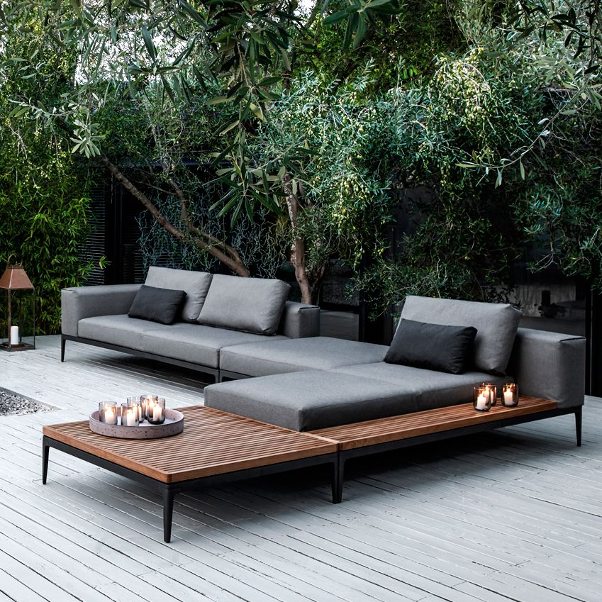 Play creative with modern outdoor lounge   furniture