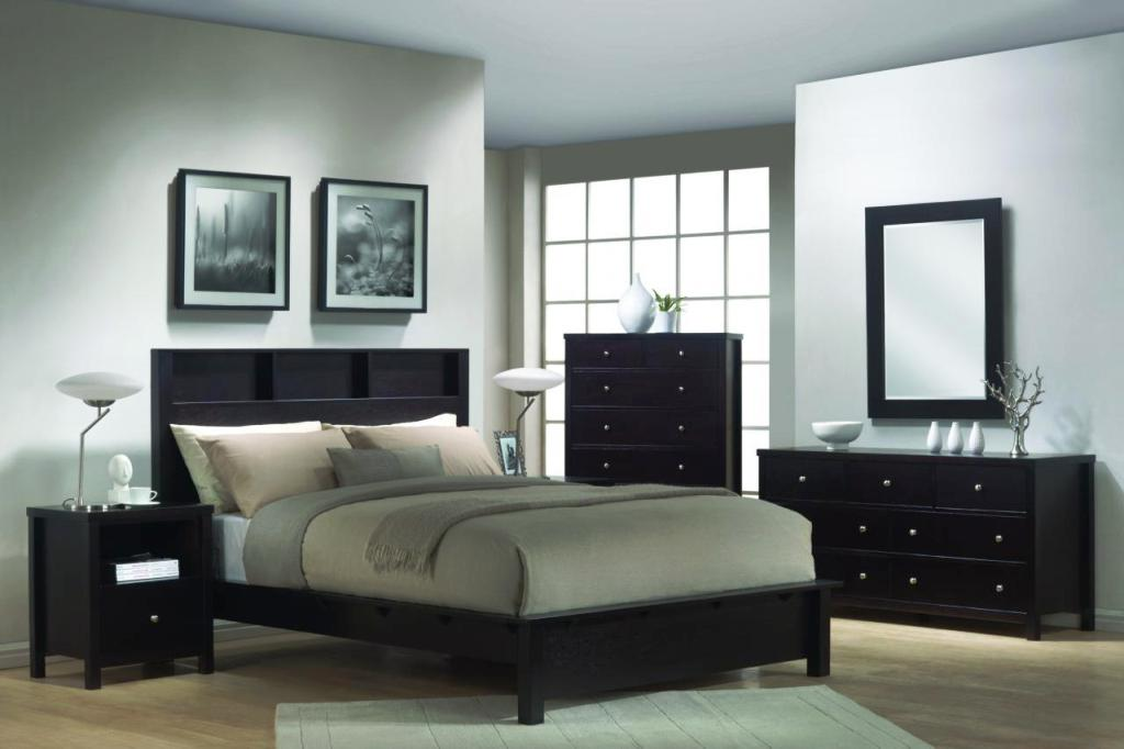 Image of: Modern Queen Bedroom Furniture Sets