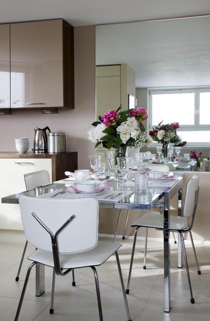 15. Dining Modern Contemporary Dining Room Decor Ideas Big Dining