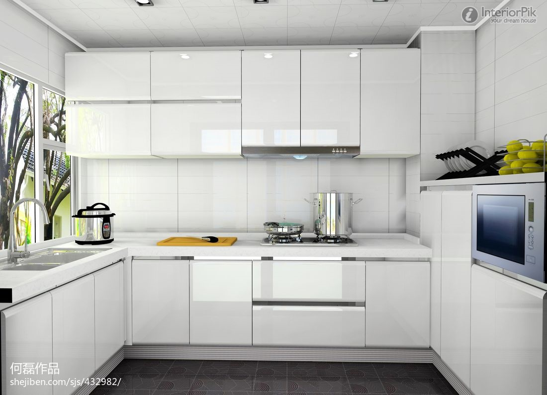 Kitchen Cabinets Open Kitchens White Cabinet Modern Home With Wood Floors  Design Classic Creamy Floor Perfect