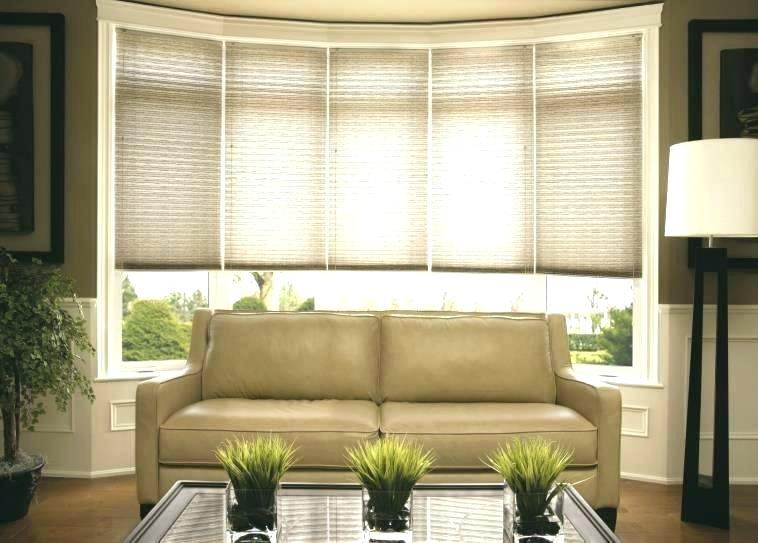 Bay Window Treatment Ideas Living Room Bay Window Curtain Ideas