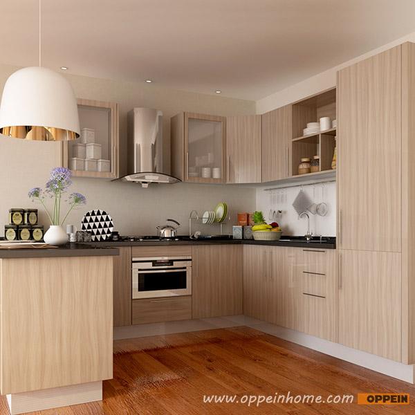 OPPEIN Kitchen in africa » OP15-M11: Modern Wood Grain Matte