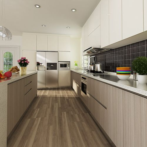 Tips for modern wood grain kitchen   cabinets