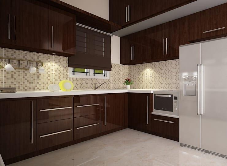 Kitchen Design: by VISUAL KRAFT