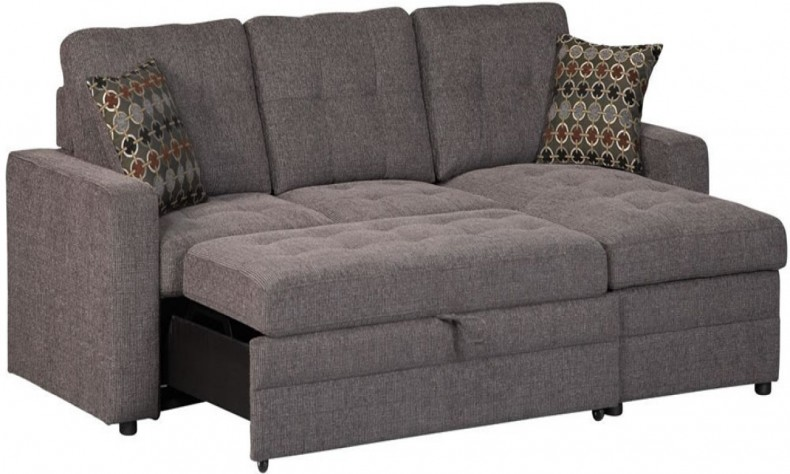 Save space and money with modular   sectional sleeper sofa