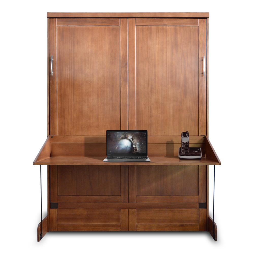 Nutmeg Caspian murphy desk bed