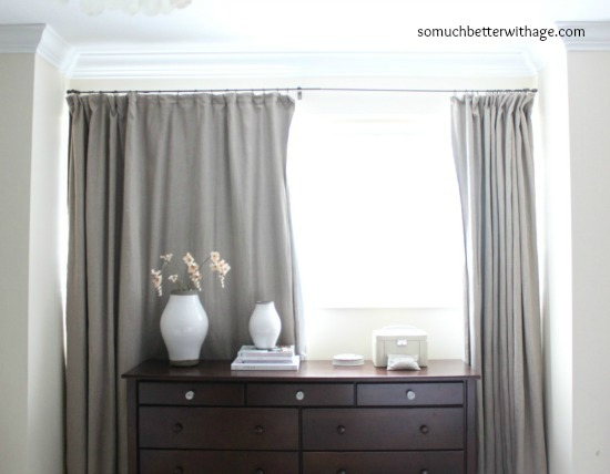 How To Make Curtains With Blackout Lining | So Much Better With Age