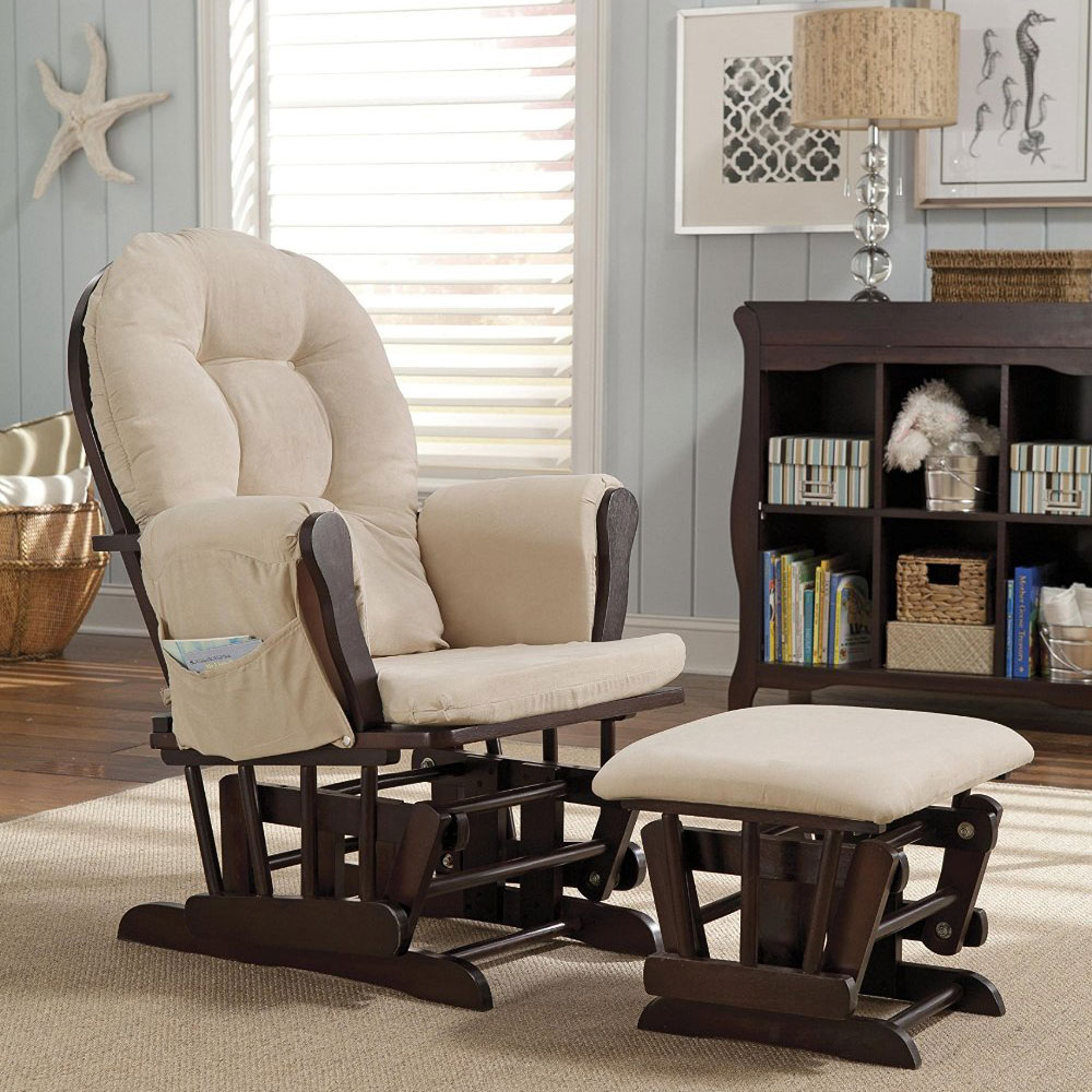 Rocking Chair with Ottoman Nursery