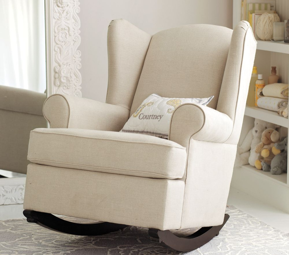 Kersey Recliner | Pottery Barn Rocking Chair | Gliding Rocking Chair