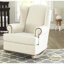 Wonderful Nursery Rocking Chair With Ottoman Superb White For Glider Amp  Australium South Africa Uk Canada